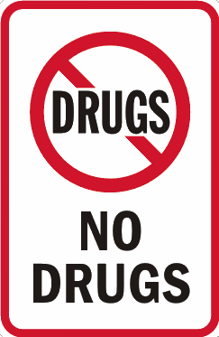 no drugs allowed at ddparties